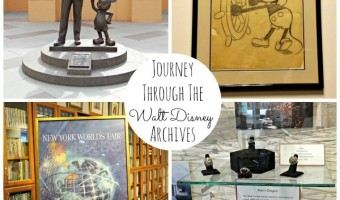 Journey Through The Walt Disney Archives!