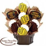 """Review of Cookies By Design """"A Toast To Dad"""" Bouquet! Just In time for Father's Day!"""