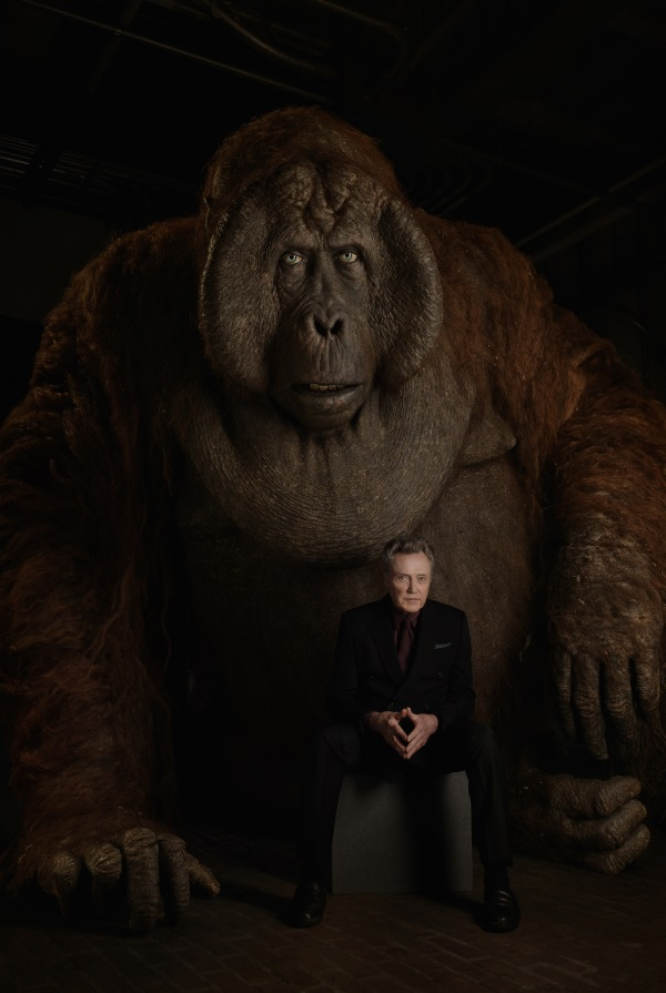 "THE JUNGLE BOOK - King Louie is a formidable ape who desperately wants the secret of Man's deadly ""red flower""--fire. He's convinced Mowgli has the information he seeks. ""King Louie is huge--12 feet tall,"" says Christopher Walken, who voices the character. ""But he's as charming as he is intimidating when he wants to be."" Photo by: Sarah Dunn. ©2016 Disney Enterprises, Inc. All Rights Reserved."