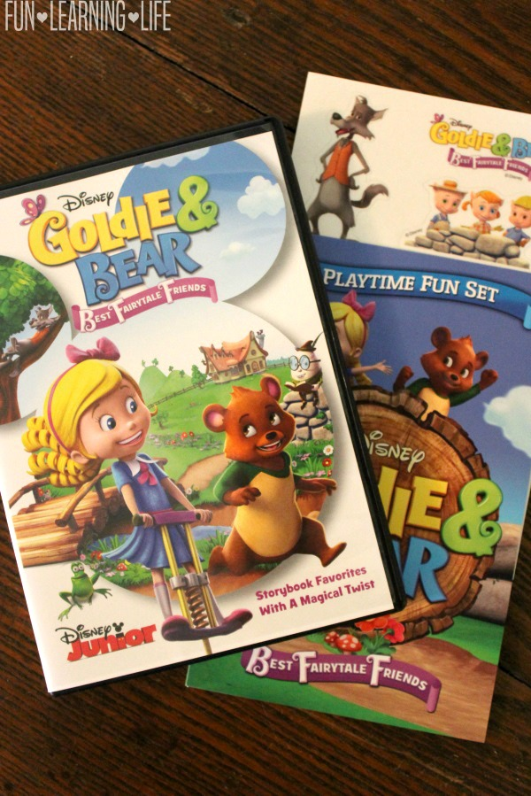 Goldie & Bear Best Fairytale Friends DVD