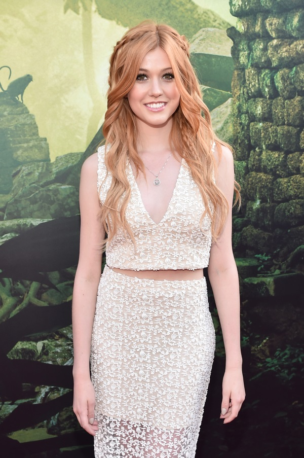 Katherine-McNamara-of-Shadow-Hunters-at-the-World-Premiere-and-Red-Carpet-of-The-Jungle-Book