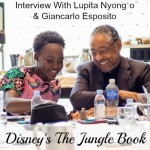 Strength In A Mother: The Jungle Book Interview With Lupita Nyong'o and Giancarlo Esposito!