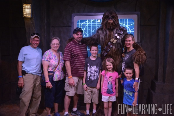 Chewbacca Family Photo