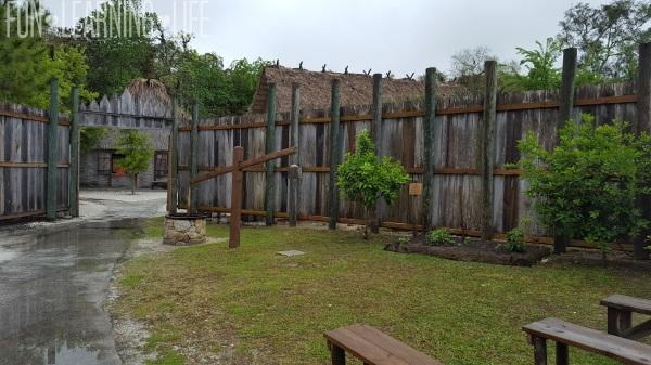 Garden Fort Menendez in St Augustine