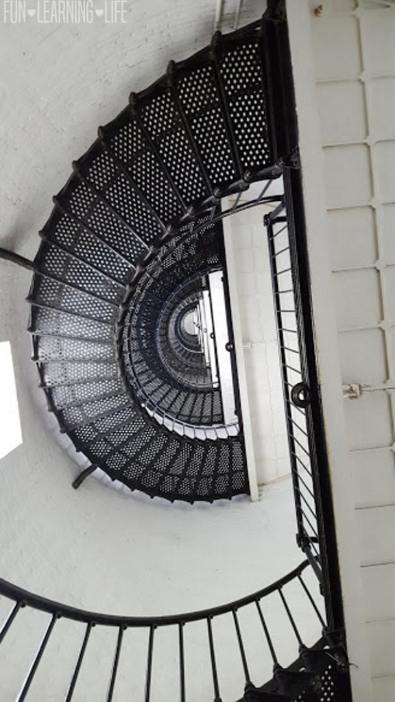 Interior of the St. Augustine Florida Lighthouse