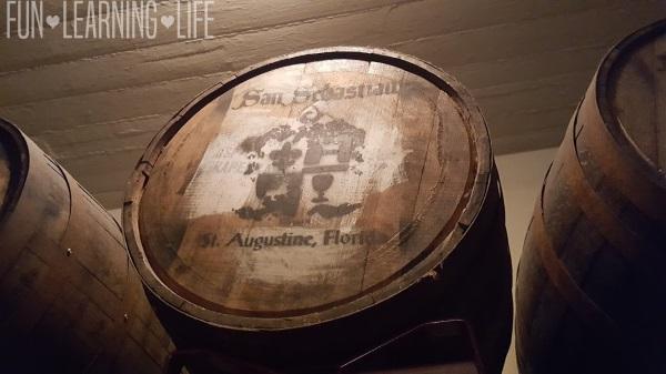 San Sebastian Winery St Augustine Barrels