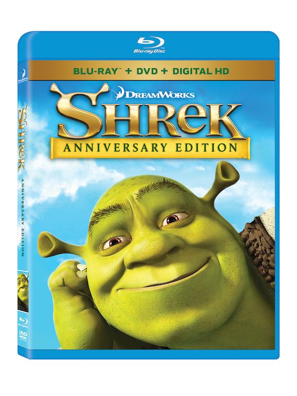 Shrek Anniversary Eddition Blu Ray DVD