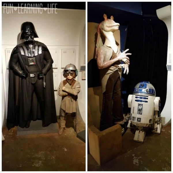 Star Wars at Potters Wax Museum St. Augustine Florida