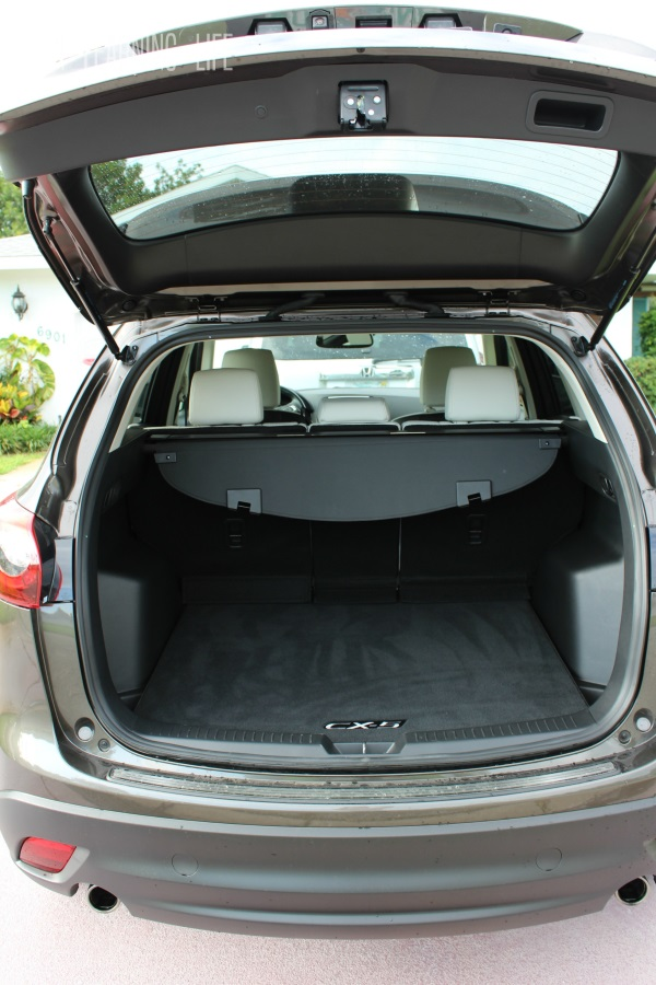 Trunk of the 2016 Mazda CX-5 Grand Touring AWD