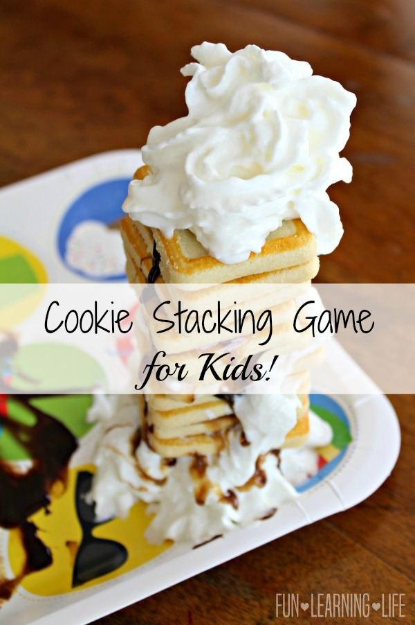 Cookie Stacking Game for Kids