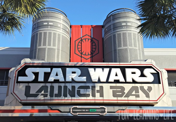 Entrance to Launch Bay Star Wars at Hollywood Studios