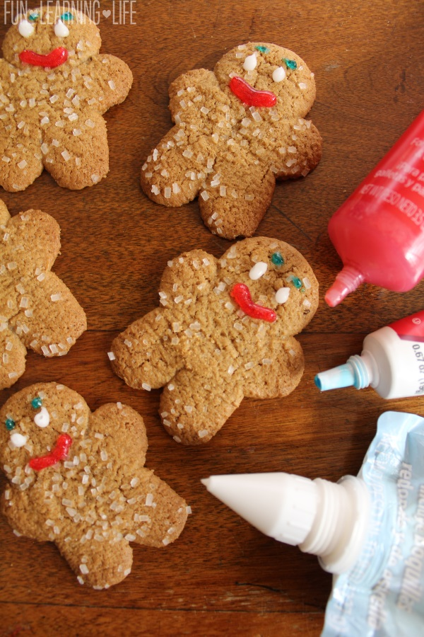 Gingerbread Man for Root Beer Floats