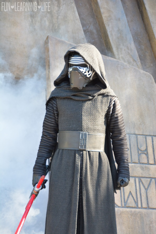 Jedi Training Trials of the Temple at Disney's Hollywood Studios Kylo Ren