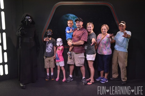 Kylo Ren at Hollywood Studios