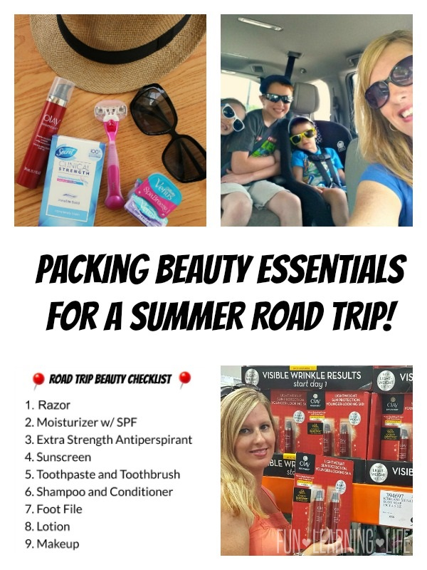 Packing Beauty Essentials for a Summer Road Trip