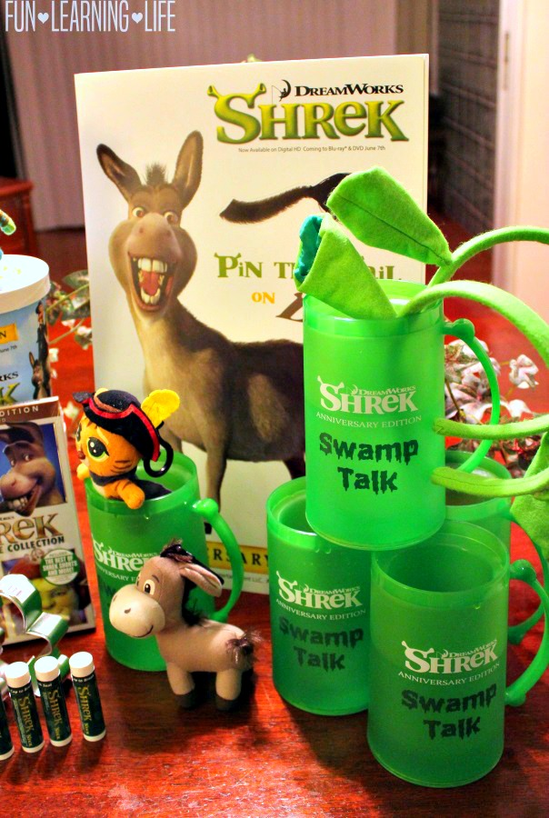 SMAMPATHON party with Shrek Themed merchandise