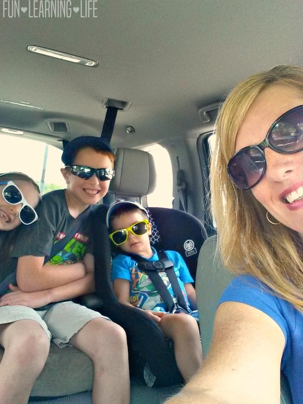 Summer Vacation Road Trip Photo