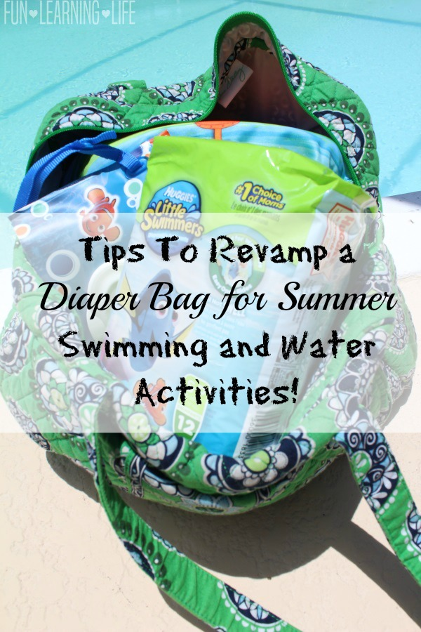 Tips To Revamp a Diaper Bag for Summer Swimming and Water Activities