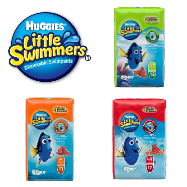 Varieties of Huggies Little Swimmers