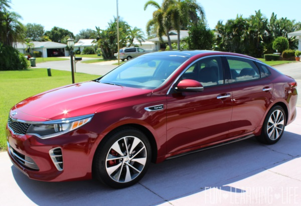 2016 Kia Optima SX Turbo Review Exterior