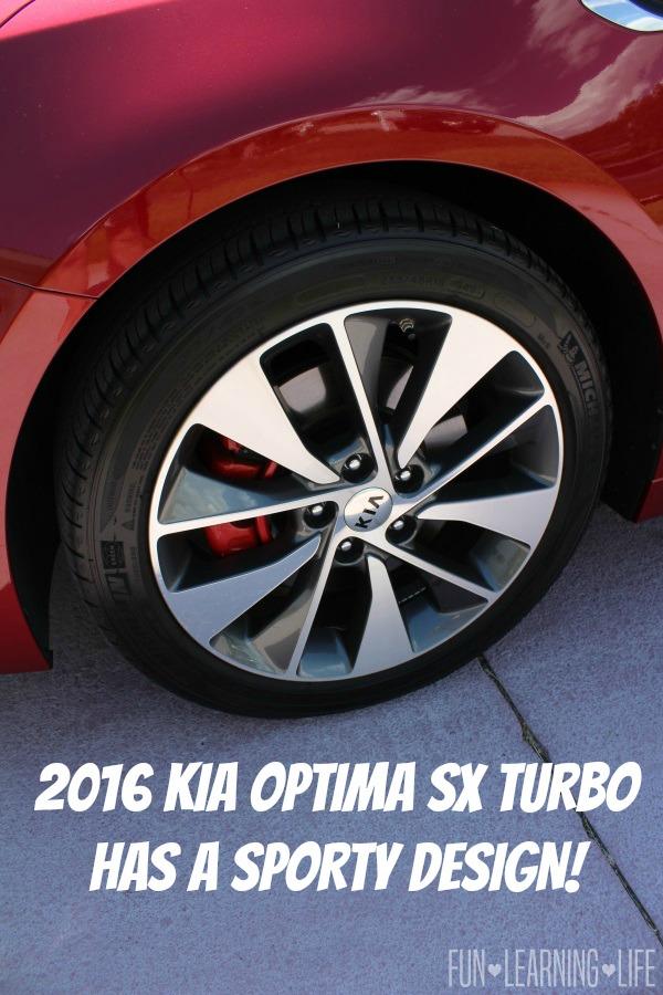 2016 Kia Optima SX Turbo Review Rims