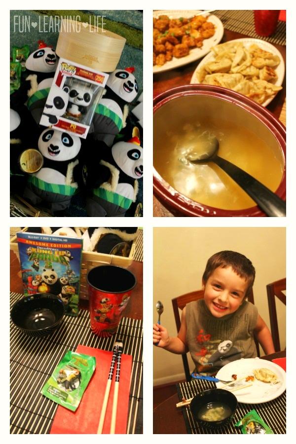 Kung Fu Panda 3 Chinese Dinner Night