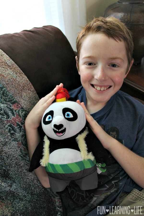Kung Fu Panda 3 Po Doll