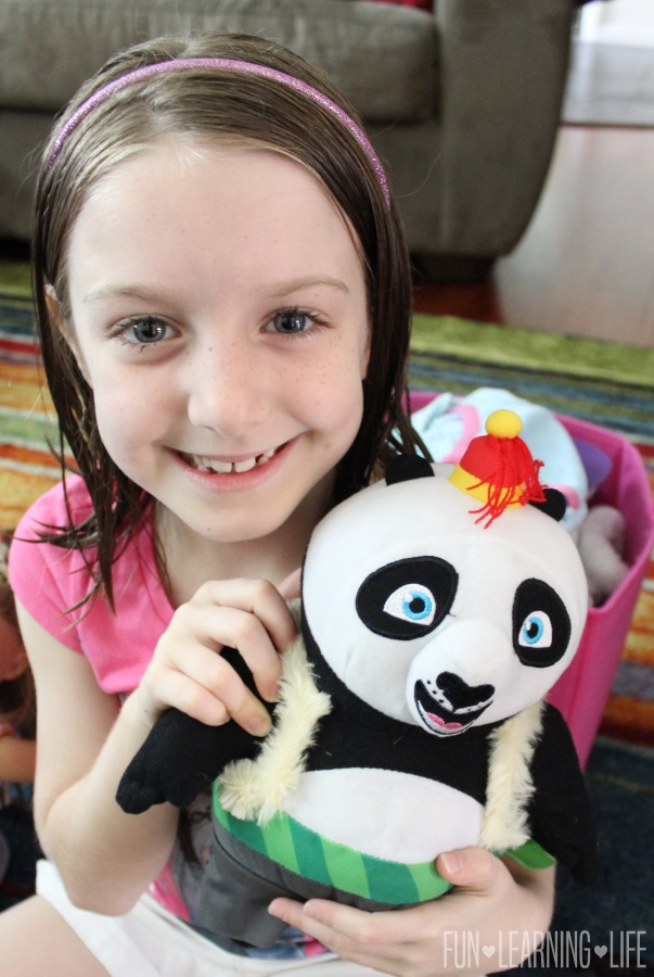 Kung Fu Panda Po Doll