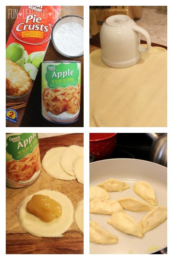 Making Apple Pie Pot Stickers