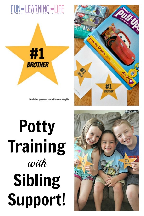 Potty Training with Sibling Support