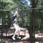 Zip Lining at Tree to Tree Adventures in Tallahassee!