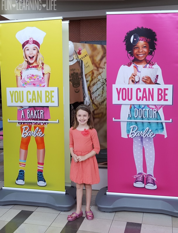 Be want you want to be at the Barbie Event