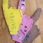 Sport's Foam Finger Craft With Back To School Goal Setting!