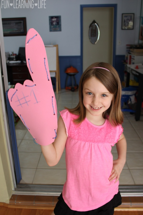 Foam Finger Craft