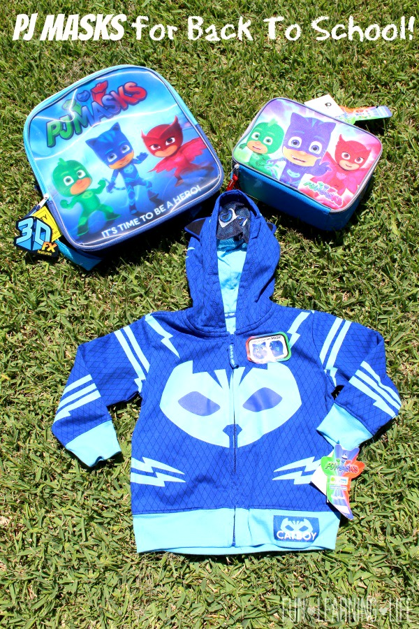 PJ Masks Backpack and Lunch box