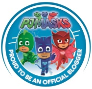 PJ Masks Blogger Badge