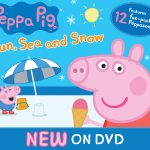 Peppa Pig Sun, Sea & Snow Out on DVD Plus Free Halloween Printables!