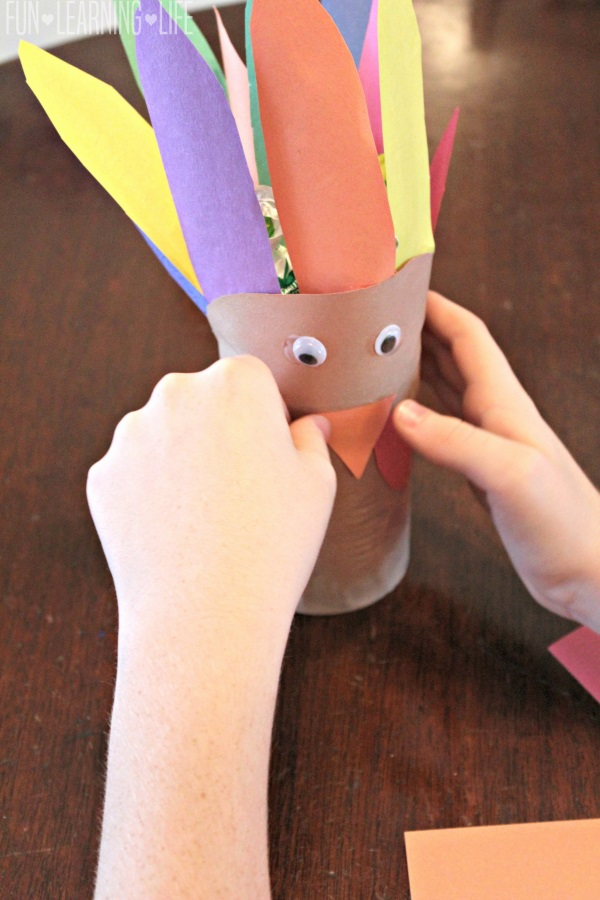 Vegetable Can Turkey Craft