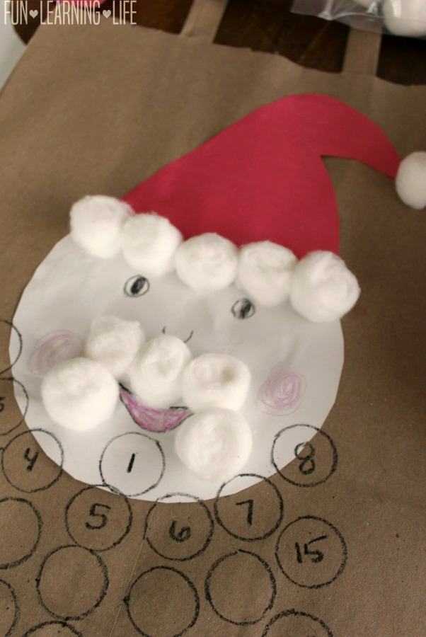 santa-calendar-craft-with-numbered-beard