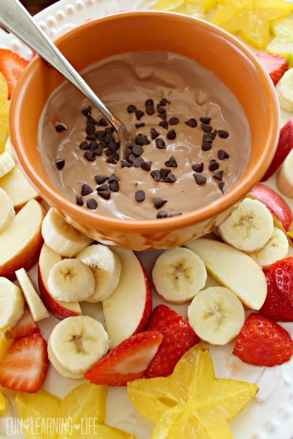 chocolate fruit dip recipe - 600×900