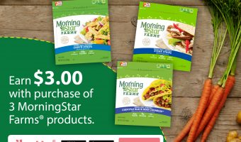 Grab This Great Ibotta Offer for MorningStar Farms® To Earn $3.00 at Walmart!