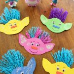 How To Make A Troll Magnet inspired by the Movie Trolls!