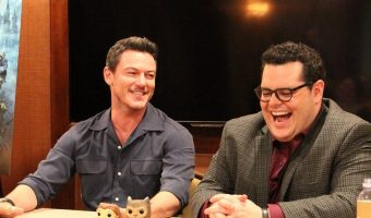 EXCLUSIVE INTERVIEW: Luke Evans and Josh Gad of Beauty and the Beast!