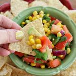 Corn, Tomato, and Avocado Salsa Recipe!