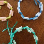 Straw Bracelet Craft Inspired by Disney Channel's Andi Mack!