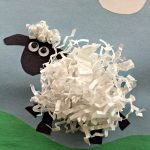 Paper Sheep Craft Inspired by Shaun the Sheep: Animal Antics DVD!
