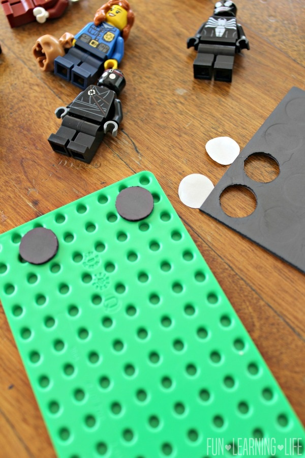 Minifigures Magnet Idea