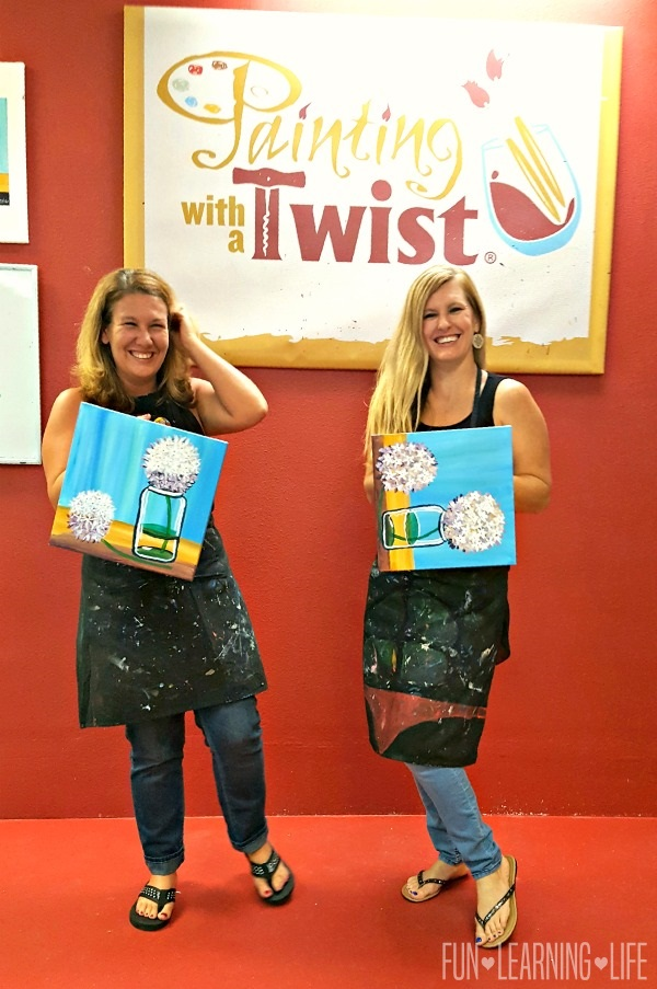 Painting With A Twist Is A Great Mom's Night Out Idea ...