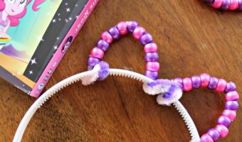Pony Ears Headband Craft and My Little Pony Equestria Girls Magical Movie Night DVD!