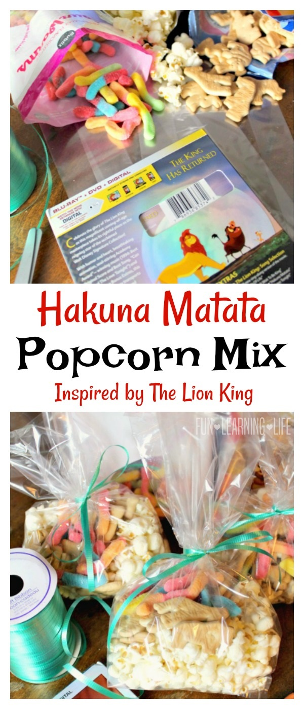 Lion King Popcorn Mix Hakuna Matata Popcorn Mix